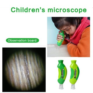fittingoods.vn Kids Biological Microscope Toys Hand Microscope Children Educational Toy