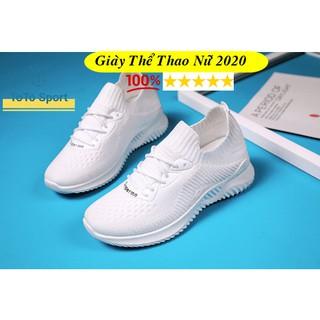 Giày nữ thế thao đế đúc siêu bền dùng chạy bộ, tập gym G996 thumbnail