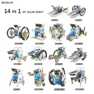 Robot Kit DIY Walking 14 in 1 for Baby Assembly Trans formers Exquisite