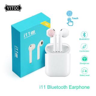 Tai nghe Vitog nhét tai không dây I11 Tws V5.0 chất lượng cao tiện dụng