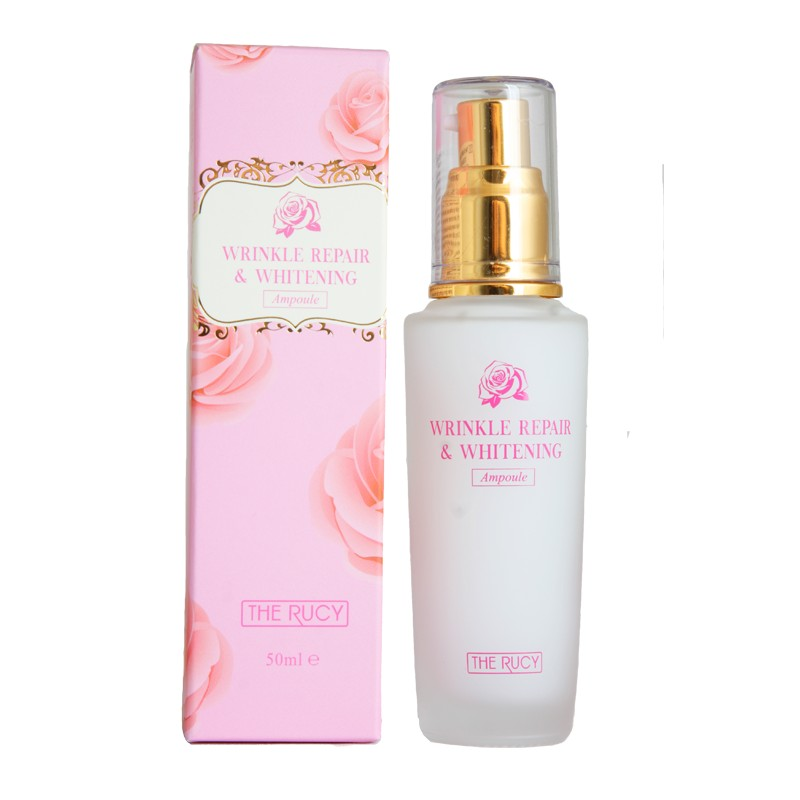 Tinh chất Ampoule làm trắng The Rucy Wrinkle Repair & Whitening Ampoule