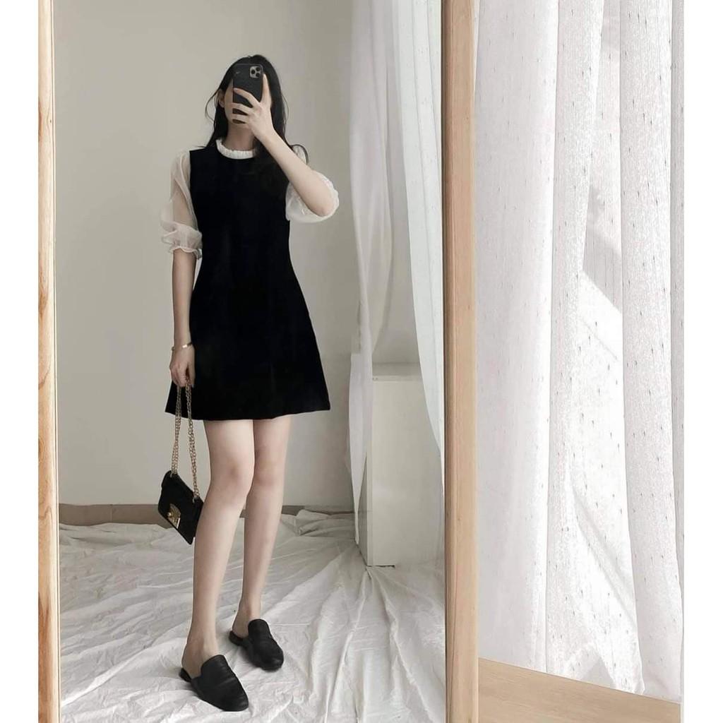 Mặc gì đẹp: Sang trọng với Đầm công sở, dạo phố tay lỡ phối voan nhẹ nhàng Luly Dress