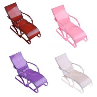 Fashion Doll Accessories Mini Furniture Beach Chair Kids Pretend Play Toy