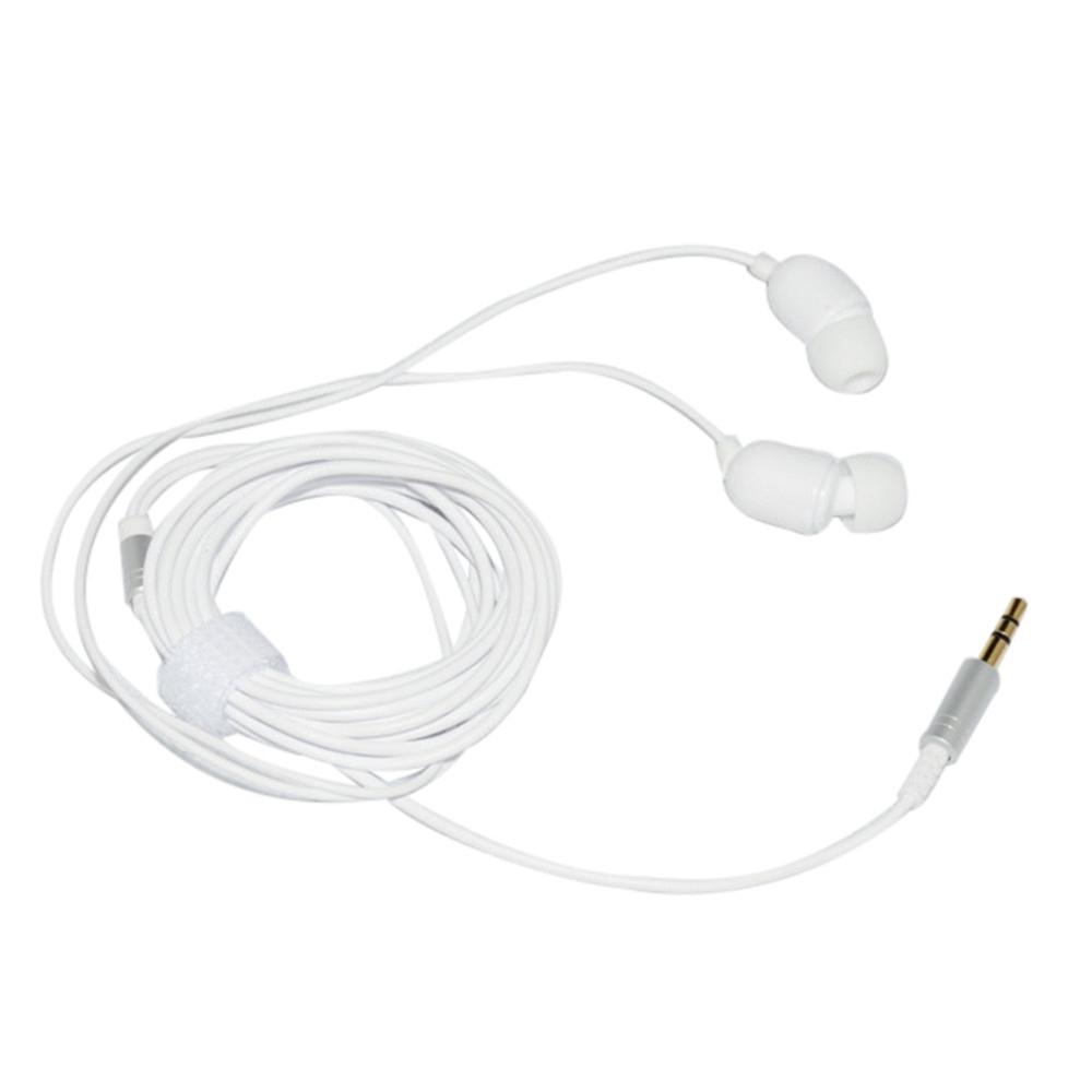 3.5MM MP3 Wired Earphones Double Bass Dual Drive Stereo 3 Meters Long Earphone Wire Earphones For Anchor Karaoke