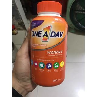 DATE 2022 Viên Uống Vitamin Tổng Hợp One A Day Women s 300v Mẫu Mới - Mỹ thumbnail