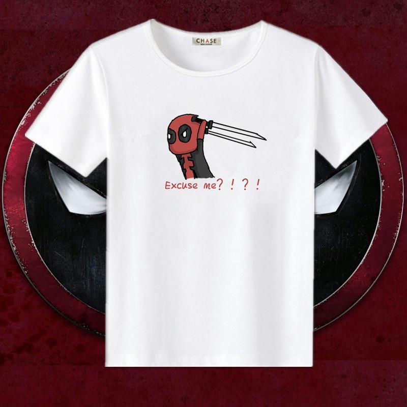 Áo thun ngắn tay in hình biểu tượng siêu anh hùng Marvel dành cho cả nam và nữ