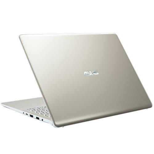 [Mã ELLAPDESK giảm 5% đơn 3TR]Laptop Asus Vivobook S15 S530UN-BQ198T Core i7-8550U/Win10 (15.6 inch) (Gold) -