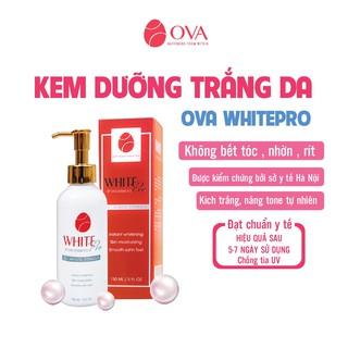 Kem dưỡng trắng da Body Ova Whitepro, nâng tông, dưỡng ẩm, chống lão hóa toàn thân ngày đêm, 150ml thumbnail