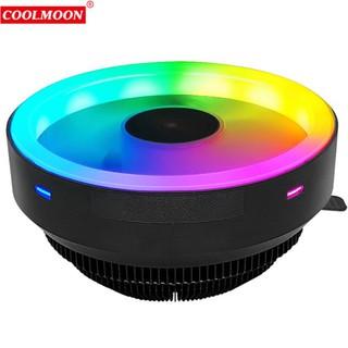 Quạt Tản Nhiệt, Fan CPU Coolmoon Glory I Led RGB - Tự Động Đổi Màu thumbnail