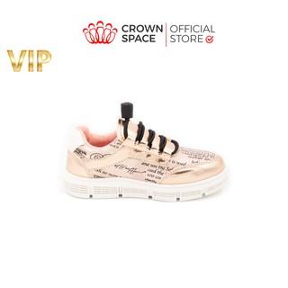 Giày Sneaker Bé Trai Bé Gái Cổ Thấp Crown Space UK Active Trẻ em Cao Cấp CRUK251 thumbnail