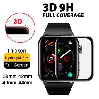 Miếng Dán Hydrogel Cong 3D Bảo Vệ Màn Hình Cho Đồng Hồ Thông Minh Apple Series 6 SE 5 1 2 3 4 Kích Thước 40mm 44mm 42mm 38mm thumbnail
