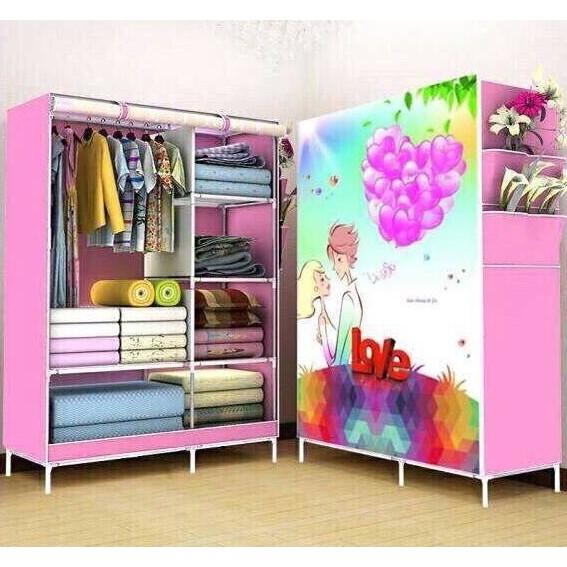 Tủ quần áo 3D 2 buồng - 3185445 , 340037334 , 322_340037334 , 250000 , Tu-quan-ao-3D-2-buong-322_340037334 , shopee.vn , Tủ quần áo 3D 2 buồng