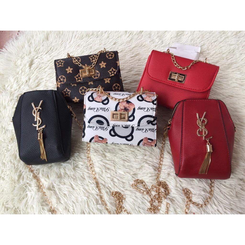 Combo 5 túi xách nữ thời trang