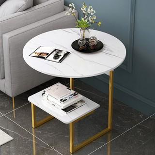 Yêu ThíchBàn tròn uống trà đặt bên Sofa 2 tầng Kệ trà, sách phòng khách nội thất Decor phong cách Vintage