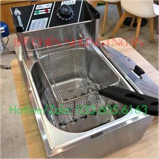 Bếp chiên nhúng 1 ngăn giá sỉ Nguồn điện 220V công suất 2500W nhiệt độ lên nhanh chiên đồ ngon