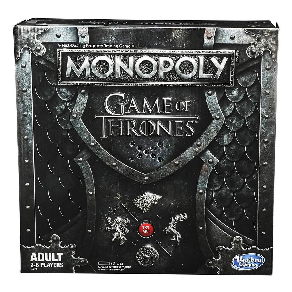 BỘ BOARD GAME MONOPOLY PHIÊN BẢN GAME OF THRONES