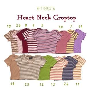 Croptop cổ tim - heart neck croptop Betterista thumbnail