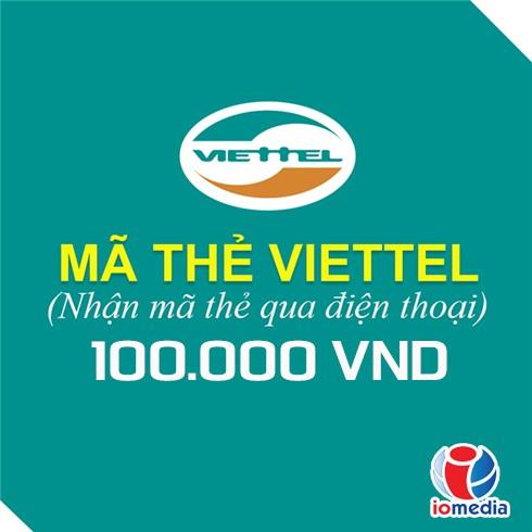 Mã thẻ Viettel 100.000