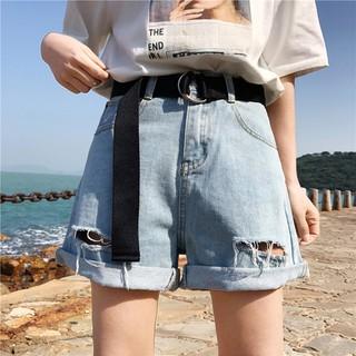 [Q07] Shorts jean rách