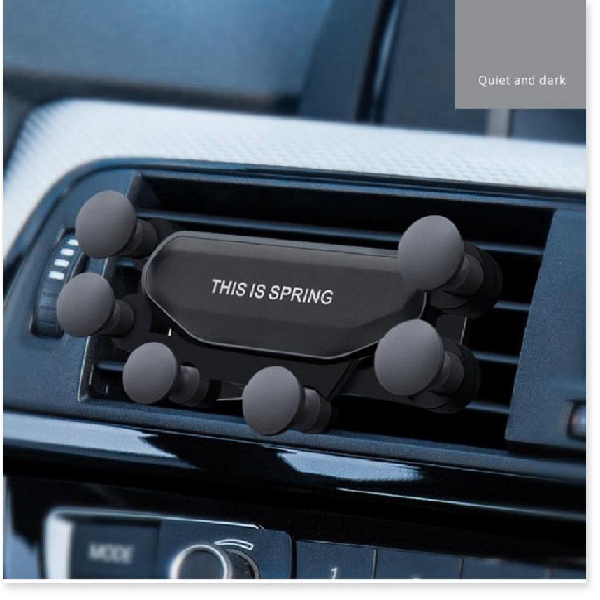 Phụ kiện điện thoại   BH 1 THÁNG   Giá đỡ điện thoại trên xe hơi, giữ điện thoại chắc chắn, thiết kế nhỏ gọn, tiện l