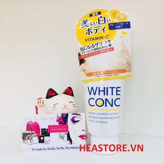 Tẩy tế bào chết Body Gommage With Vitamin-C White Conc Nhật Bản thumbnail