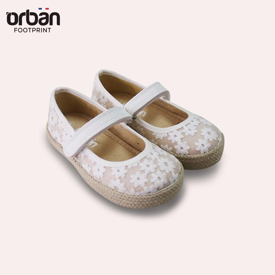 Combo Giày cho mẹ và bé Urban Foorprint ren trắng siêu xinh