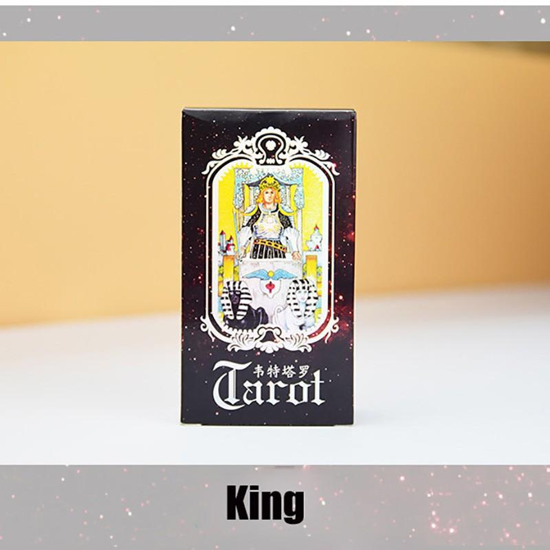 Bộ bài Tarot gồm 78 lá cao cấp phiên bản Tiếng Anh / Tiếng Trung Tiện Dụng