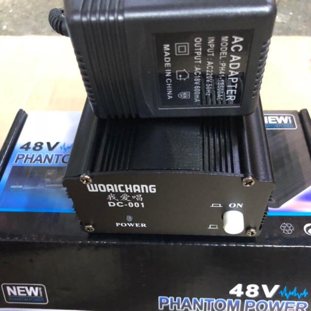 Nguồn Phantom 48V dùng cho mic thu âm - 3400066 , 1265618816 , 322_1265618816 , 355000 , Nguon-Phantom-48V-dung-cho-mic-thu-am-322_1265618816 , shopee.vn , Nguồn Phantom 48V dùng cho mic thu âm