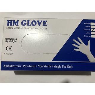 Freeship HN-COMBO 5 Hộp(250 đôi) -Găng Tay Găng Khám HM Gloves , Topcare, ... và một số hãng size SX,S,M,Lcó bột thumbnail