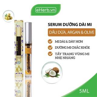 Serum Dưỡng Dài Mi Từ Dầu Nguyên Chất (Dừa, Olive, Argan) MILAGANICS 5ml (Tuýp) thumbnail