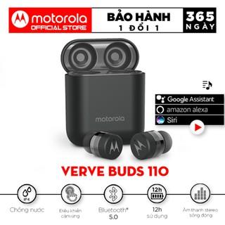 Tai nghe bluetooth Motorola không dây - VerveBuds110- Hỗ trợ đàm thoại thông minh chuẩn chống nước IPX4 thumbnail