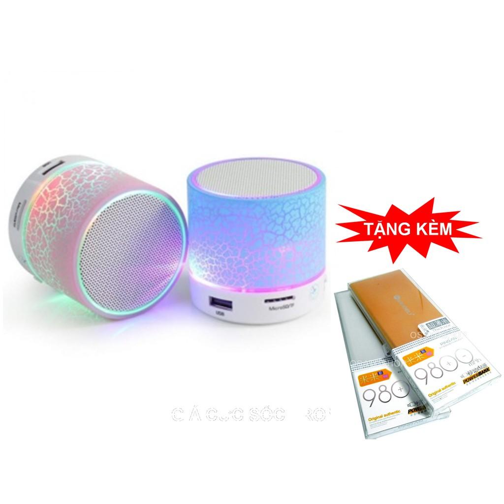 Loa Bluetooth có đèn Led nháy theo điệu nhạc + Tặng pin sạc dự phòng 9800mah vỏ kim loại - 3309965 , 1289855676 , 322_1289855676 , 165000 , Loa-Bluetooth-co-den-Led-nhay-theo-dieu-nhac-Tang-pin-sac-du-phong-9800mah-vo-kim-loai-322_1289855676 , shopee.vn , Loa Bluetooth có đèn Led nháy theo điệu nhạc + Tặng pin sạc dự phòng 9800mah