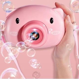 Đồ chơi thổi bong bóng, máy ảnh thổi bong bóng tự động có nhạc nhiều hình ngộ nghĩnh đáng yêu cho bé thumbnail