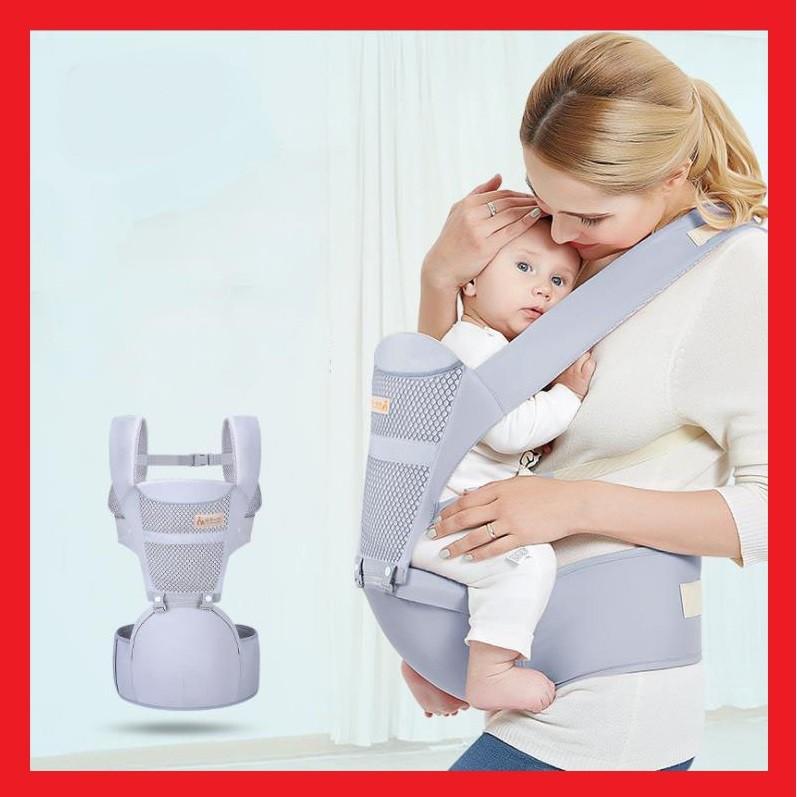 🌟Địu em bé 4 tư thế (có ghế chống gù cho bé) điệu trẻ em