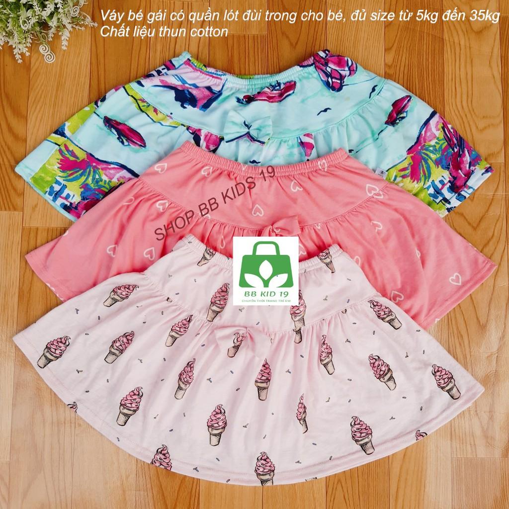 Quần váy có chip trong xuất xịn bé gái từ 5-35kg
