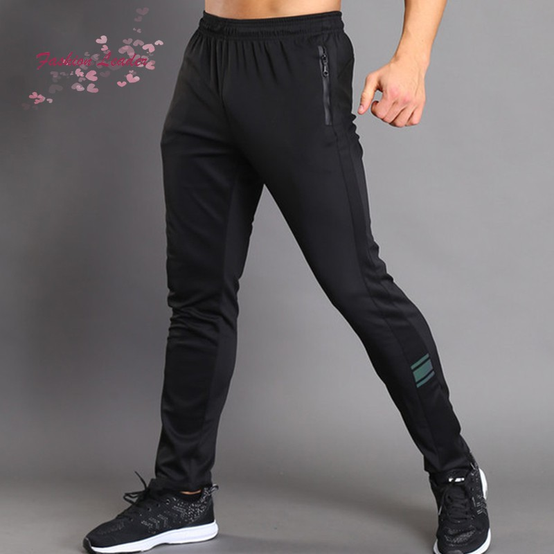Men Sport Pants Trousers Breathable Casual for Running Training Fitness Summer