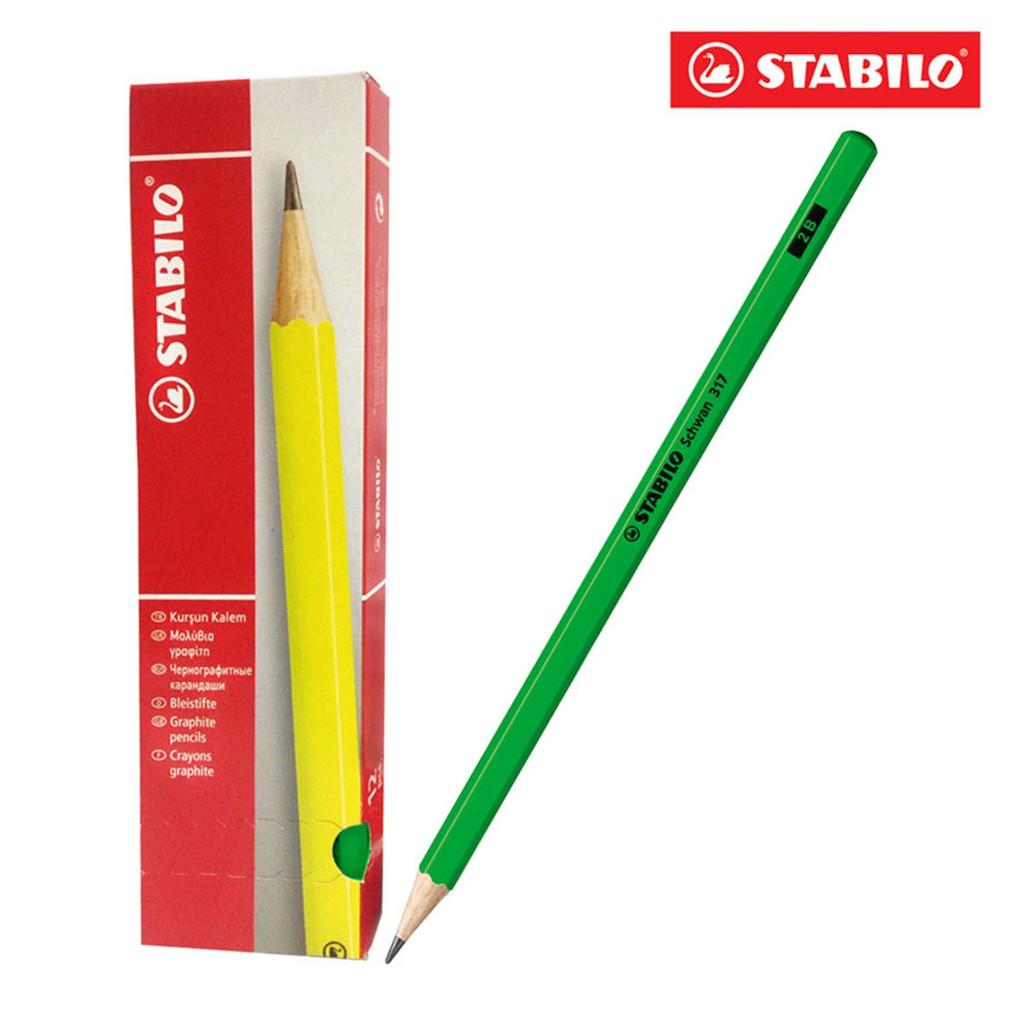 Hộp 12 cây bút chì gỗ STABILO Schwan 317-2B (Xanh) - 9999797 , 272190789 , 322_272190789 , 172000 , Hop-12-cay-but-chi-go-STABILO-Schwan-317-2B-Xanh-322_272190789 , shopee.vn , Hộp 12 cây bút chì gỗ STABILO Schwan 317-2B (Xanh)