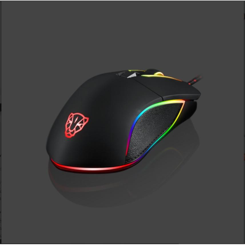 [Mã 267ELSALE hoàn 7% đơn 300K] Chuột game thủ Motospeed V30 Optical Gaming Mouse LED RBG