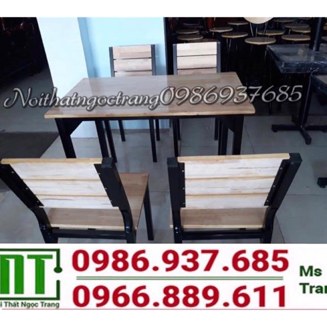 Thanh lý 20 bộ bàn ghế khung sắt mặt gỗ - 14957277 , 2612352874 , 322_2612352874 , 1680000 , Thanh-ly-20-bo-ban-ghe-khung-sat-mat-go-322_2612352874 , shopee.vn , Thanh lý 20 bộ bàn ghế khung sắt mặt gỗ