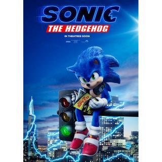 1 Cặp Tranh Treo Tường Hình Nhân Vật Trong Phim The Sonic
