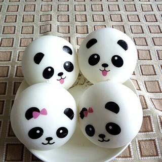 Panda Squishy Kawaii Buns Bread Charms Strap Random For Key Bag Cell Phone