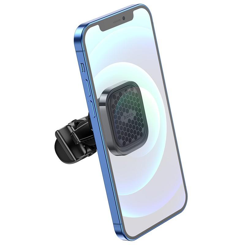 Giá đỡ điện thoại từ tính HOCO S49 kẹp cửa gió tiện lợi Dành cho điện thoại iPhone iP Xiaomi Huawei Samsung Oppo Realme