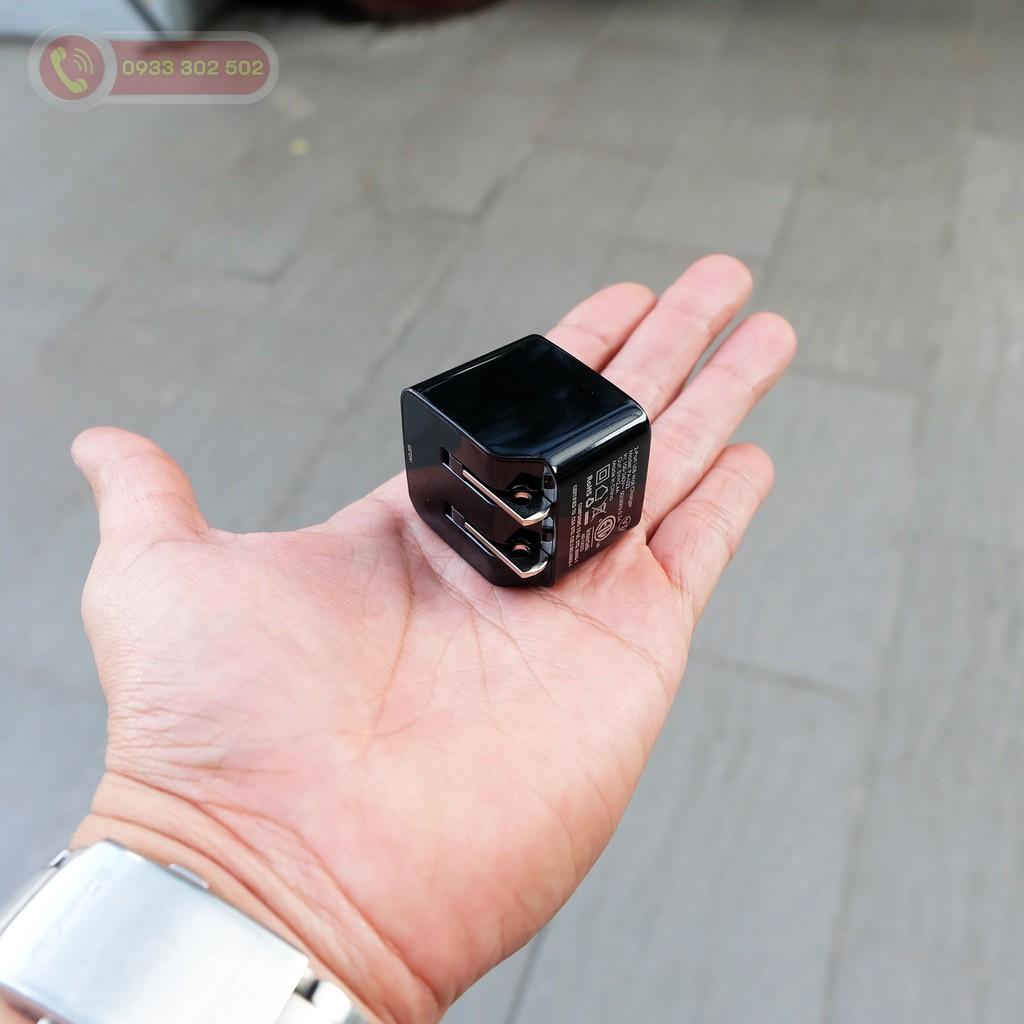 Sạc USB Aukey PA-U32 Đầu Ra 2.4A Công Nghệ AiPower Thông minh - Hàng Chính Hãng