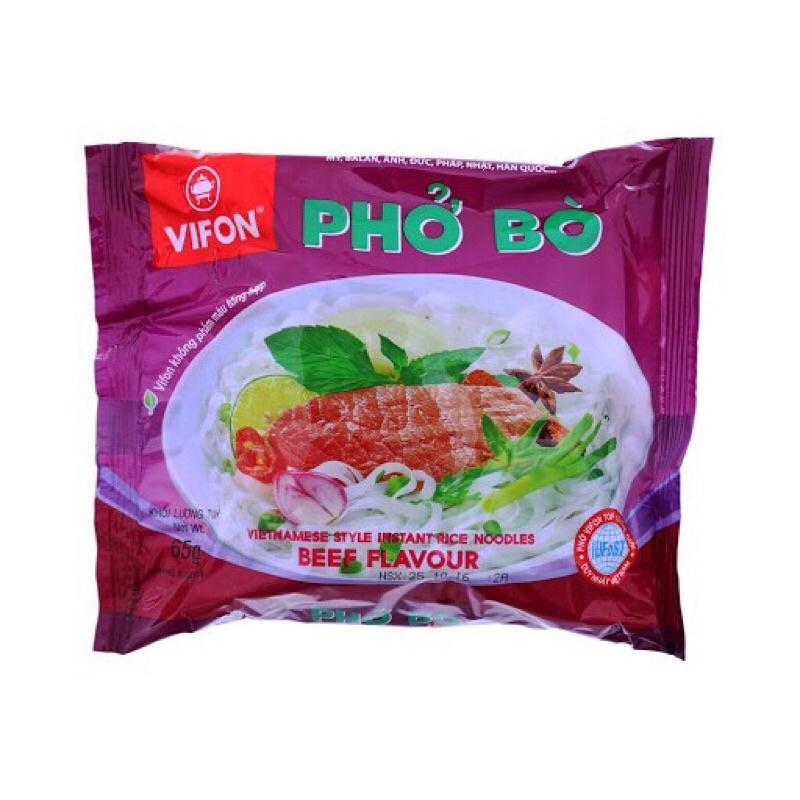 PHỞ BÒ VIFON GÓI 65GR