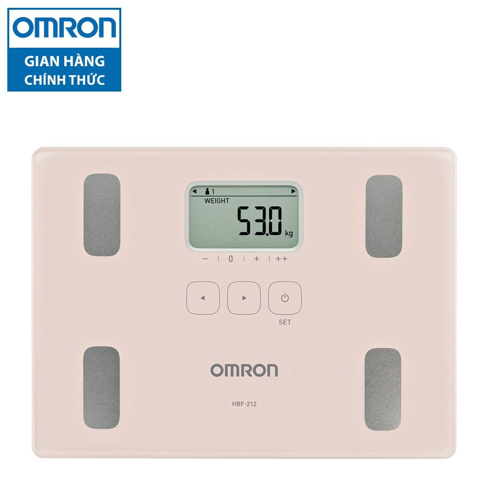 [Nhập OMRONOCT giảm 100k] Máy đo lượng mỡ cơ thể Omron HBF-212-AP