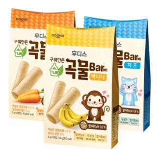 Bánh ống ngũ cốc ăn dặm cho bé Ildong thumbnail