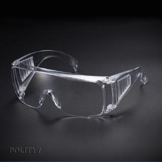 3 Packs Transparent PC Safety Goggle Glasses Lab for Hospital Workers Outdoor
