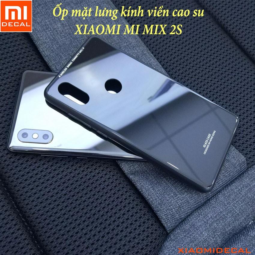 [ Xiaomi MI MIX 2S ] Ốp lưng mặt lưng kính cường lực viền cao su - ĐEN - 3396717 , 1200391211 , 322_1200391211 , 70000 , -Xiaomi-MI-MIX-2S-Op-lung-mat-lung-kinh-cuong-luc-vien-cao-su-DEN-322_1200391211 , shopee.vn , [ Xiaomi MI MIX 2S ] Ốp lưng mặt lưng kính cường lực viền cao su - ĐEN