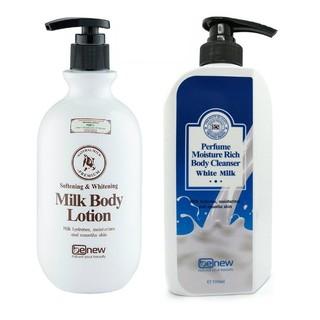 Combo sữa tắm và sữa dưỡng thể dưỡng trắng da Benew Hàn Quốc thumbnail
