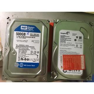 [Mã ELFLASH5 giảm 20K đơn 50K] HDD ổ cứng máy bàn 1TB 500G các loại hàng chuẩn bóc máy - Tặng kèm cáp Sata